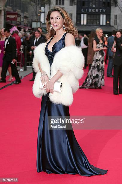 Kelly Brook arrives at the British Academy Television Awards 2008 held at the London Palladium in London on April 20, 2008 in London, England.