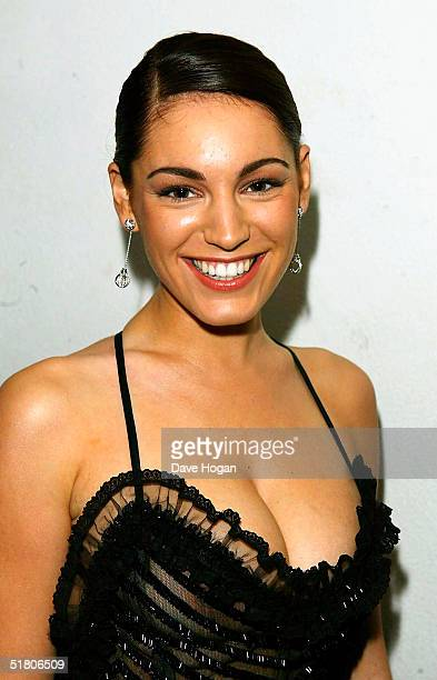 Kelly Brook arrives at The British Independent Film Awards at Hammersmith Palais on November 30 2004 in London The annual awards dedicated to raising...