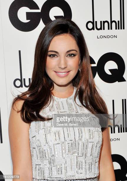 Kelly Brook arrives at the GQ Men Of The Year Awards 2012 at The Royal Opera House on September 4 2012 in London England