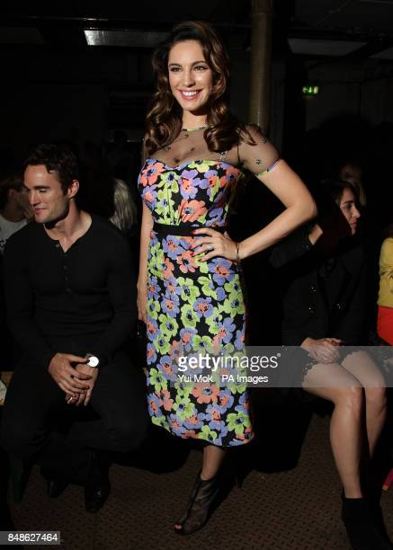 91e236c78bff Kelly Brook attend the Moschino Cheap Chic spring summer 2013 London  Fashion Week show at