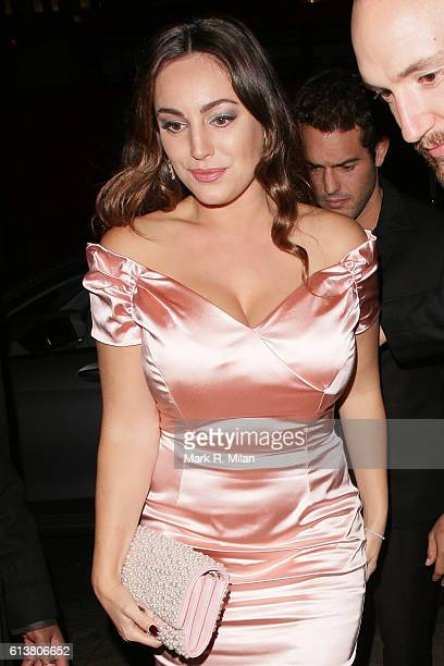 Kelly Brook attending the Attitude magazine awards on October 10 2016 in London England