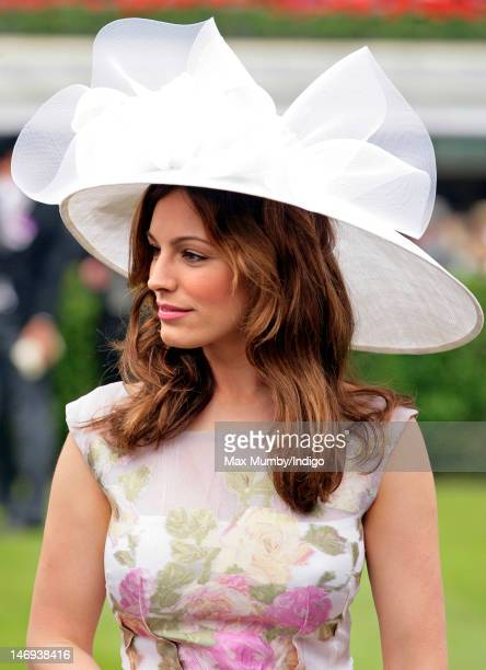 Kelly Brook attends day five of Royal Ascot at Ascot Racecourse on June 23 2012 in Ascot England