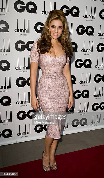 Kelly Brook attends GQ Men Of The Year Awards at the The Royal Opera House on September 8 2009 in London England