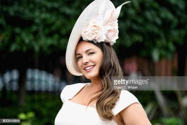 Kelly Brook attends Royal Ascot 2017 at Ascot Racecourse on June 24 2017 in Ascot England