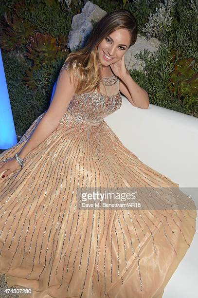 Kelly Brook attends the after party at amfAR's 22nd Cinema Against AIDS Gala Presented By Bold Films And Harry Winston at Hotel du CapEdenRoc on May...