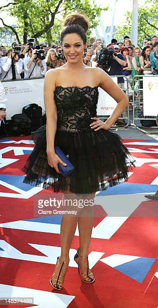 Kelly Brook attends The Arqiva British Academy Television Awards 2012 at The Royal Festival Hall on May 27 2012 in London England