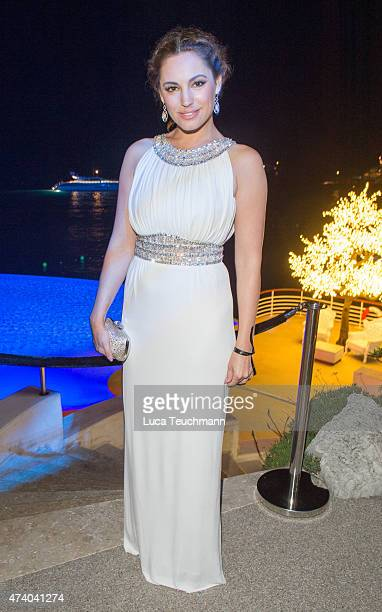 Kelly Brook attends the De Grisogono Party at the 67th Annual Cannes Film Festival on May 19 2015 in Cap d'Antibes France