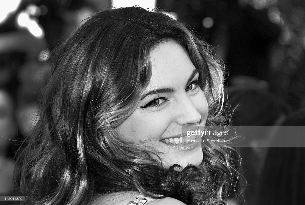 Kelly Brook attends the 'Killing Them Softly' Premiere during 65th Annual Cannes Film Festival at Palais des Festivals on May 22, 2012 in Cannes, France.