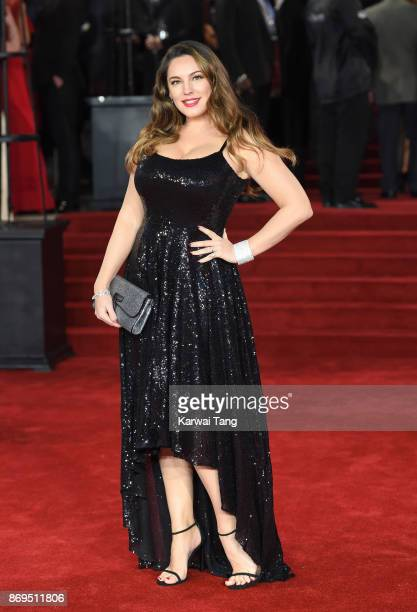 Kelly Brook attends the 'Murder On The Orient Express' World Premiere at Royal Albert Hall on November 2 2017 in London England