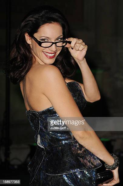 Kelly Brook Attends The Spectacle Wearer Of The Year Awards At The V A Museum On November 10 2010 In London