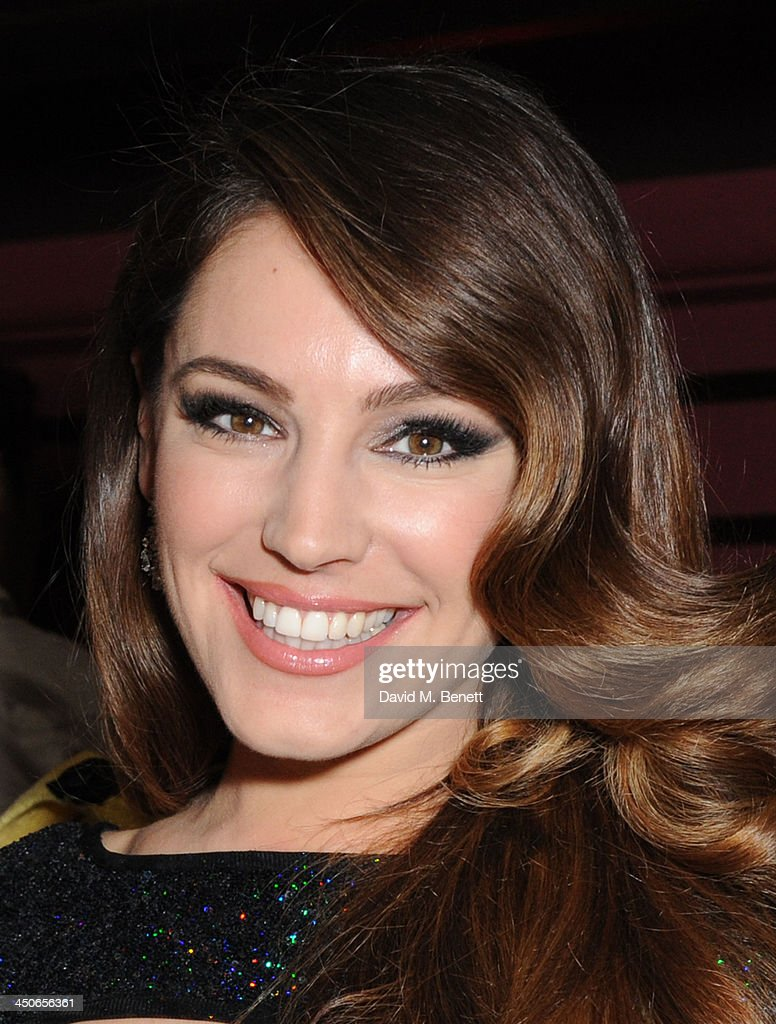 Kelly Brook attends the Steam And Rye launch party on November 19, 2013 in London, United Kingdom.