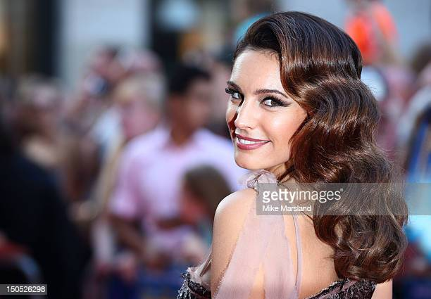 Kelly Brook attends the World Premiere of Keith Lemon The Film at Odeon West End on August 20 2012 in London England