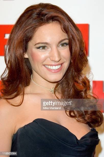 Kelly Brook during 2005 FHM Sexiest Women Party at Umbaba in London, Great Britain.