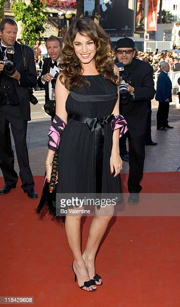"""Kelly Brook during 2006 Cannes Film Festival - """"Marie Antoinette"""" Premiere at Palais des Festival in Cannes, France."""