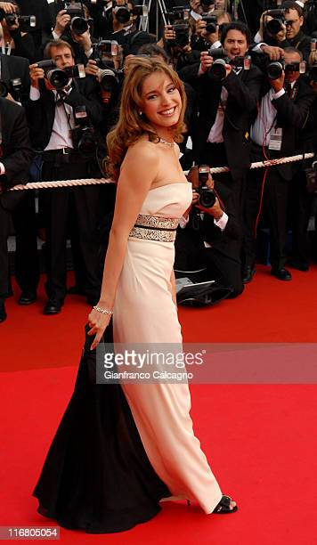 Kelly Brook during 2007 Cannes Film Festival Opening Night Gala and World Premiere of 'My Blueberry Nights' Arrivals at Palais de festival in Cannes...