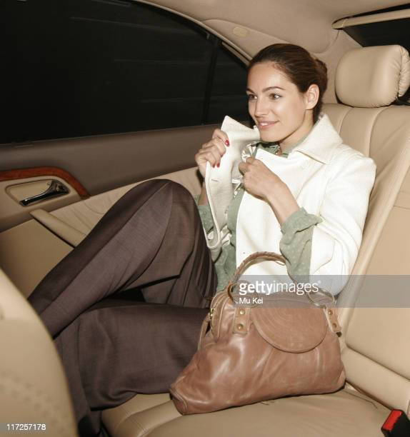 Kelly Brook during Kelly Brook Sighting at Cipriani's in London April 13 2006 at Cipriani's in London Great Britain