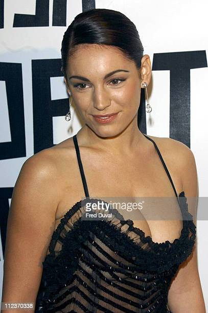 Kelly Brook during The 2004 British Independent Film Awards Arrivals at Hammersmith Palais in London Great Britain