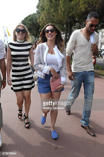 Kelly Brook during the 68th Annual Cannes Film Festival on May 19 2015 in Cannes France