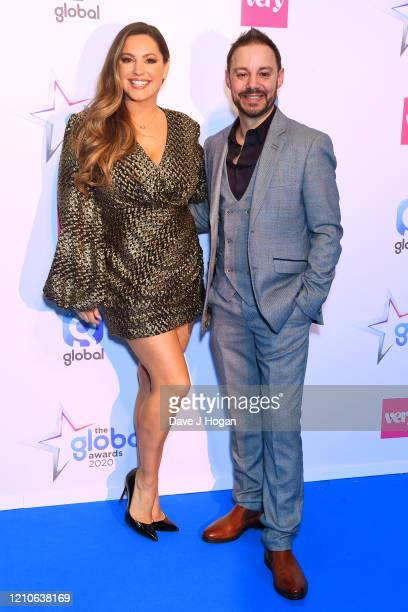 Kelly Brook during The Global Awards 2020 at Eventim Apollo Hammersmith on March 05 2020 in London England