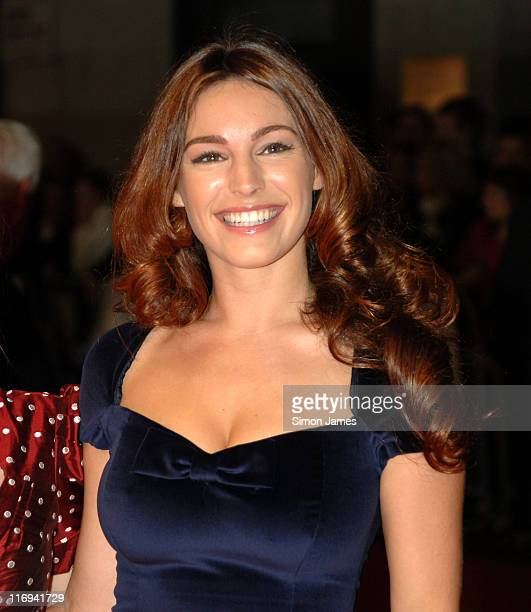 Kelly Brook during The Times BFI London Film Festival 'Lives of the Saints' Foyer at Odeon West End in London Great Britain
