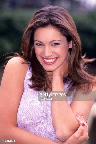 Kelly Brook helping the Help the Aged British Gas Campaign in 1999