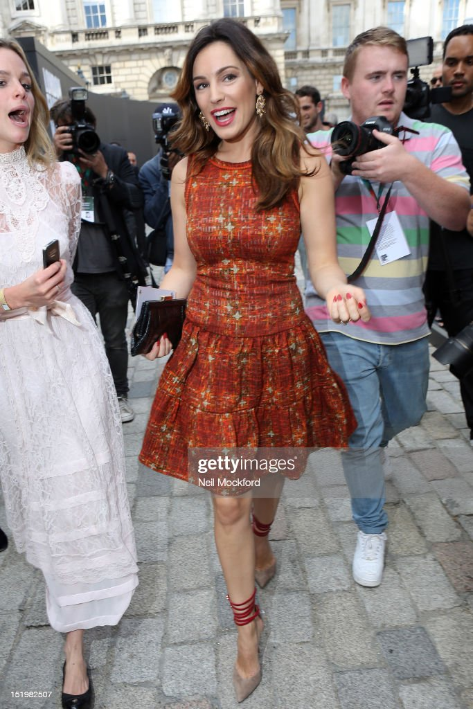 Celebrity Sightings At LFW SS2013 In London - September 14th, 2012