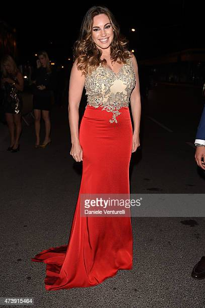 Kelly Brook is seen during The 68th Annual Cannes Film Festival on May 18 2015 in Cannes France