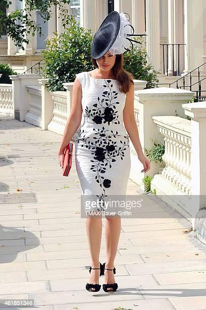 Kelly Brook is seen on August 02 2012 in London United Kingdom