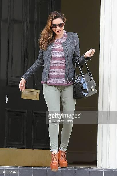 Kelly Brook is seen on July 19 2012 in London United Kingdom