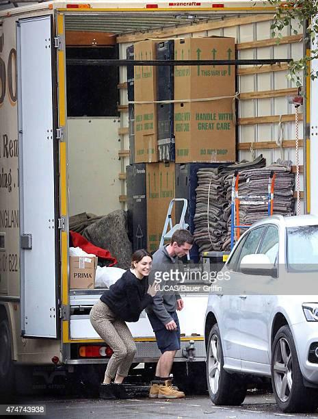 Kelly Brook is seen on November 24 2012 in London United Kingdom