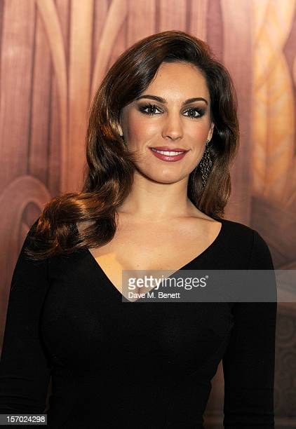 Kelly Brook poses at the British Fashion Awards 2012 at The Savoy Theatre on November 27 2012 in London England