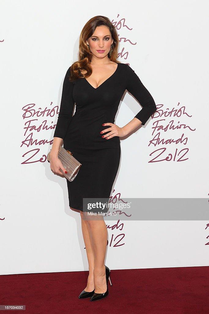British Fashion Awards 2012 - Awards Room