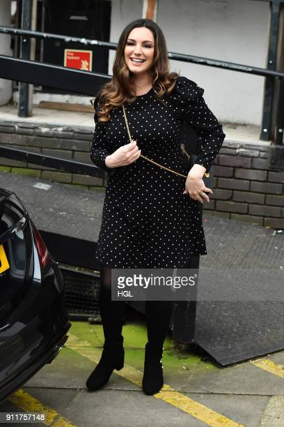Kelly Brook seen at the ITV Studios on January 29 2018 in London England