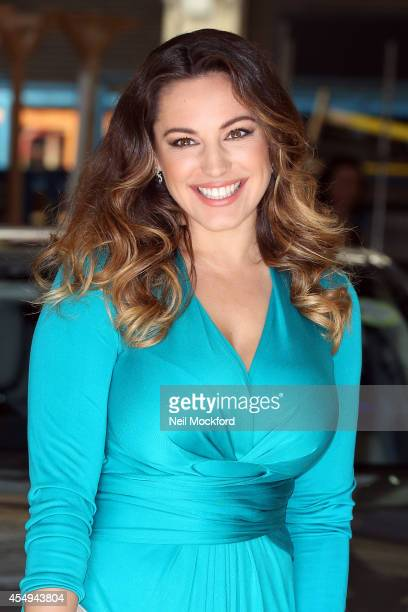 Kelly Brook seen at the ITV Studios on September 8 2014 in London England