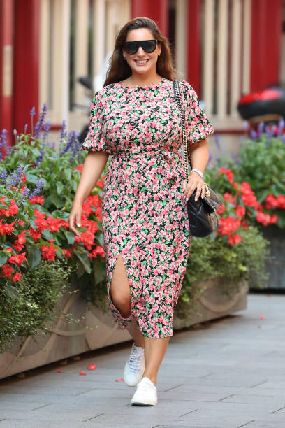 GBR: London Celebrity Sightings - August 11, 2020