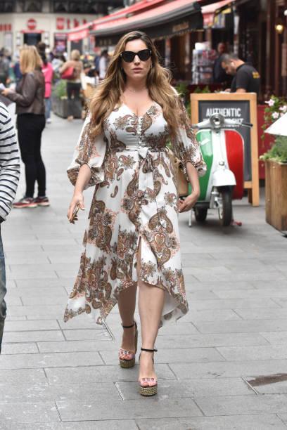 GBR: London Celebrity Sightings -  July 15 2019