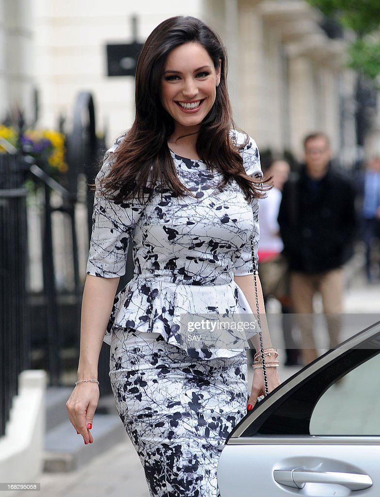 Kelly Brook sighted leaving her home on May 8, 2013 in London, England.