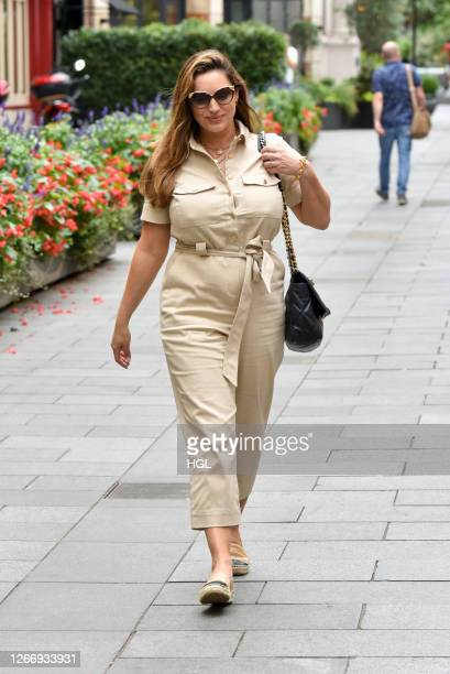Kelly Brook sighting on August 18, 2020 in London, England.