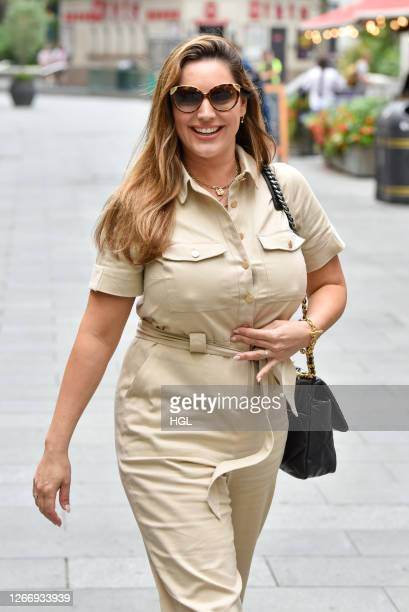 Kelly Brook sighting on August 18 2020 in London England