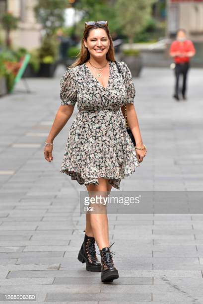 Kelly Brook sighting on August 24, 2020 in London, England.