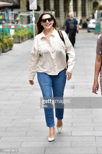 Kelly Brook sighting on July 02, 2020 in London, England.