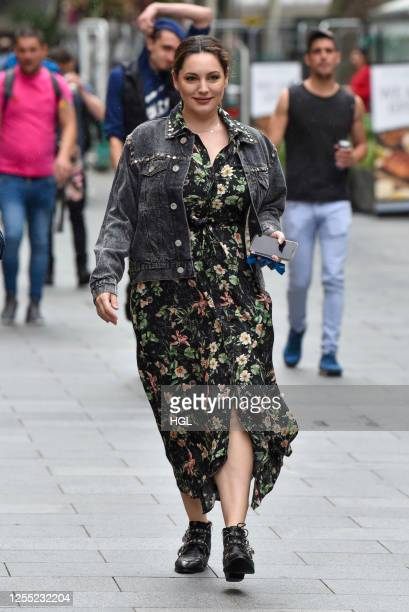 Kelly Brook sighting on July 09, 2020 in London, England.