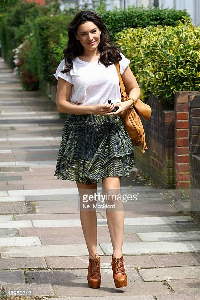 Kelly Brook sighting on July 20 2012 in London England