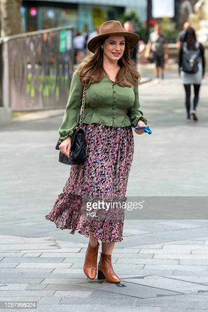Kelly Brook sighting on July 24, 2020 in London, England.