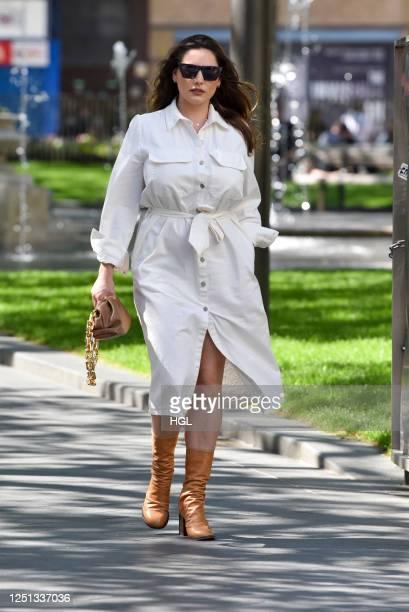 Kelly Brook sighting on June 22, 2020 in London, England.
