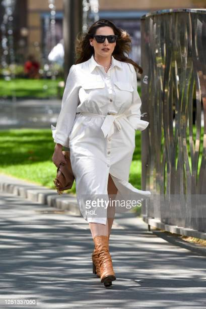 Kelly Brook sighting on June 22, 2020 in London, England.