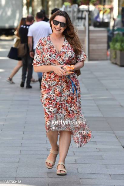 Kelly Brook sighting on June 26, 2020 in London, England.
