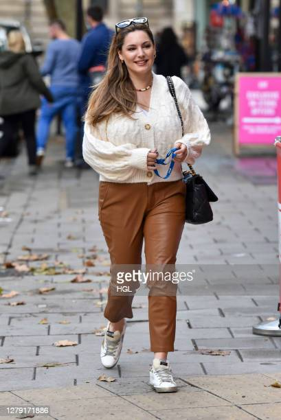 Kelly Brook sighting on October 08, 2020 in London, England.