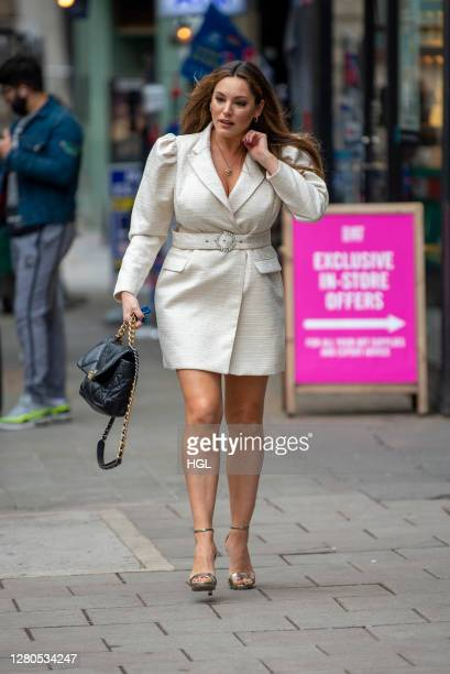 Kelly Brook sighting on October 16 2020 in London England