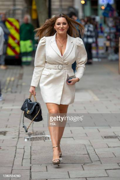 Kelly Brook sighting on October 16, 2020 in London, England.